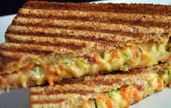 Veg Cheese Grilled Sandwich