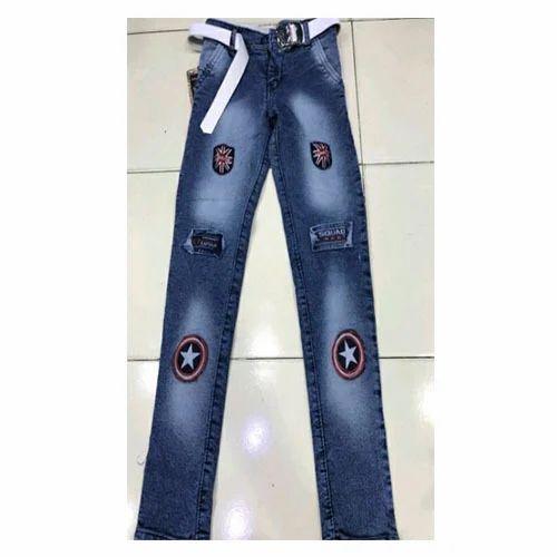 7537c6525e42 Blue Denim Kids Boys Designer Jeans, Rs 235 /piece, Vanita Hosiery ...