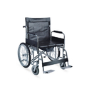 Heavy Duty Commode Wheelchair