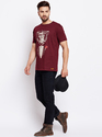 100% Cotton Men Half Sleeve Round Neck T-Shirt For Wholesale