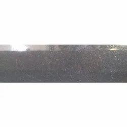 Black Galaxy Granite Slab, For Flooring, Thickness: 18 mm