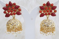 Antique Jadau Jhumka Earring