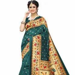 Cheap Rate Khadi Silk Saree