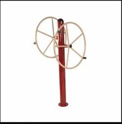 Big Turning Wheel Function Outdoor Gym Equipment