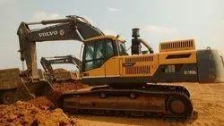 140马力沃尔沃480挖掘机,最大斗容量:1.0及,型号:2013