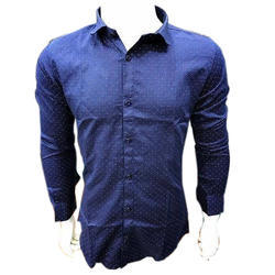 Fashion Fever Blue Printed Casual Shirt