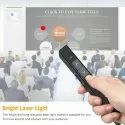Wireless Presenter with Leather Case, Powerpoint Clicker Presentation Remote Control Pen,