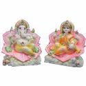 Marble Laxmi Ganesh God Statue