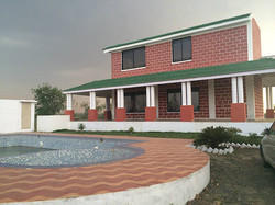 Real Estate Builders Contractors Of Farm House Amp Water Park By Ambika Farms Nagpur
