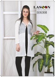 6072 Ladies Designer Woolen Kurtis