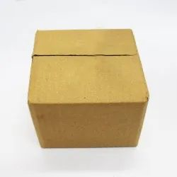 Single Wall Brown Packaging Corrugated 3 Ply Box, Size: 6x6x6 Inch