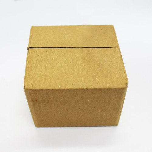 Brown Packaging Corrugated 3 Ply Box- 6x6x6