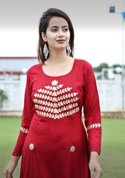 Cotton Gown Kurti