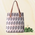 Printed Laptop Tote Bag