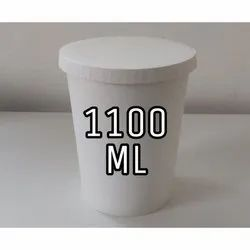1100 ml Paper Food Container