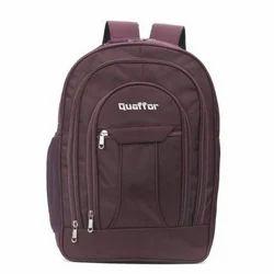 Quaffor Polyester Plain College Bag