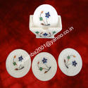 Marble Coaster Set