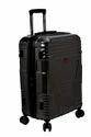 F Gear Valkyrie Polycarbonate 73 (cm) Black Hardsided Suitcase (4 Wheel Trolley Case)