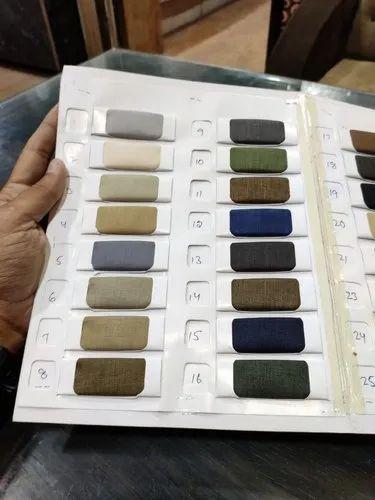 Multi Color Coat Pant Fabric