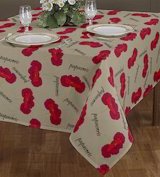 Woven Printed Table Cloth