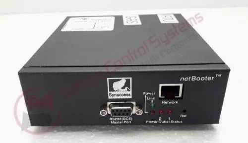 Synaccess Netbooter NP-02 B Remote Power Management Switch 2 Outlets