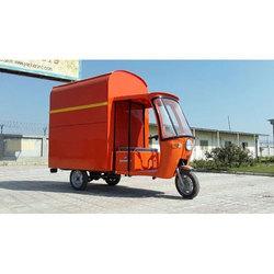 Electric Operated Van Cargo Tricycle