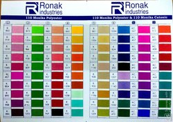 Multicolor Roto Polyester Dyed Yarn