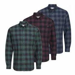 Mens Cotton Checks Shirt