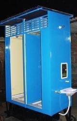 Double Seater Toilet Cabin