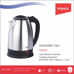 Electric Kettle - Steamer 1501