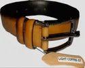 Cozyto Light Brown Leather Belt