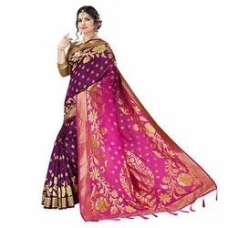 J27 Traditional Khadi Silk Saree