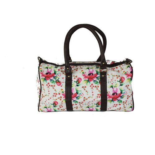 Band Box Multicolor Floral Duffle Bag 9157aca80156c