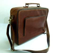 Goat Leather Executive Briefcase