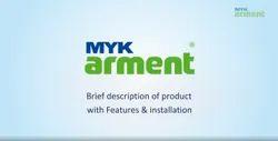 Urethanes White MYK Arment AquaArm WPU 1K Waterproof Coating, Packaging Type: Bucket