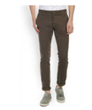 Blackberrys Dobby Green Skinny Fit Chinos