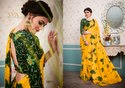 Georgette Print saree