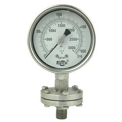 Sealed Diaphragm Pressure Gauges