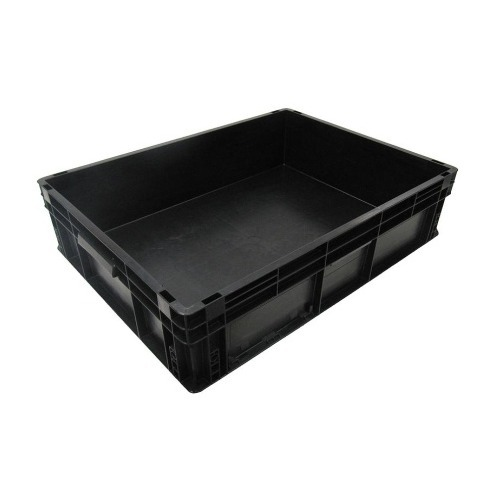 Black PP Conductive Crate