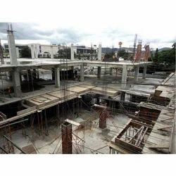 Concrete Frame Structures Malls Construction Service