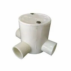 PVC Deep Junction Box, Size: 3x4 Inch