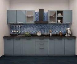 Stainless Steel Straight Kitchen Designing Services