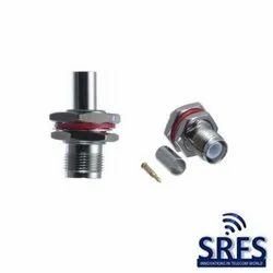 TNC Female Bulkhead Crimp Connector For Rg 174, Rg316, and Lmr 100 cable