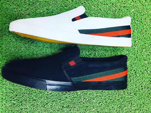 929b9dcaa0a Men Gucci Style Canvas Shoes
