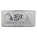 Silver bricks coin