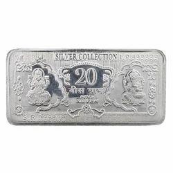 Silver bricks coin