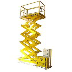 Handy Powered Lifting Platform Fixed Type Goods Lift