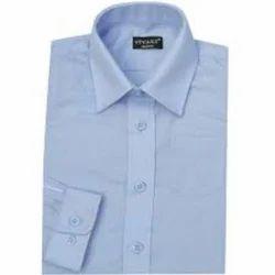 Cotton Formal Wear Mens Plain Shirt, Size: L