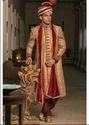 Manyavar Shahi Dark Brown Sherwani