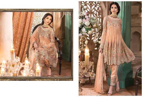 173f4562fb Unstitched Faux Georgette Designer Pakistani Suit | ID: 19989643773